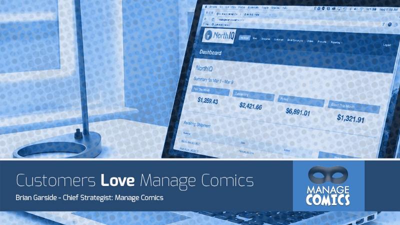 Customers Love Manage Comics