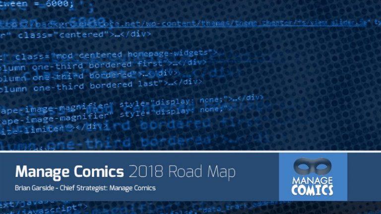 Manage Comics 2018 Road Map