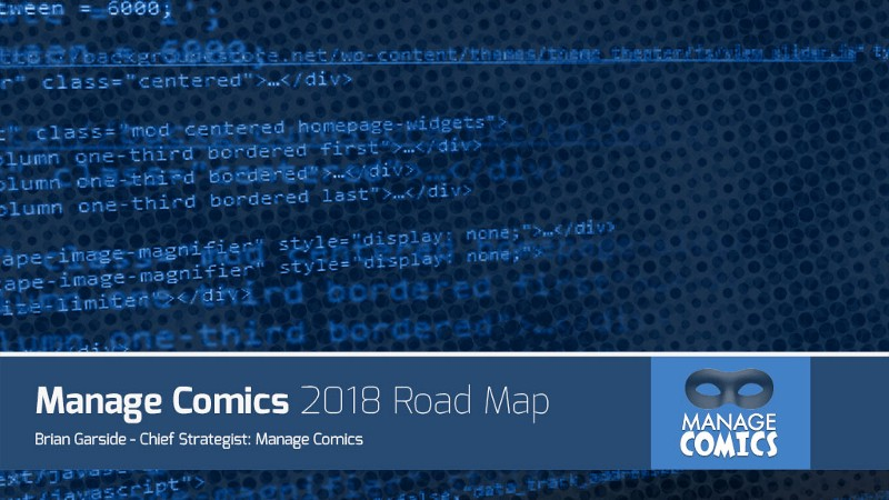 Manage Comics 2018 Road Map