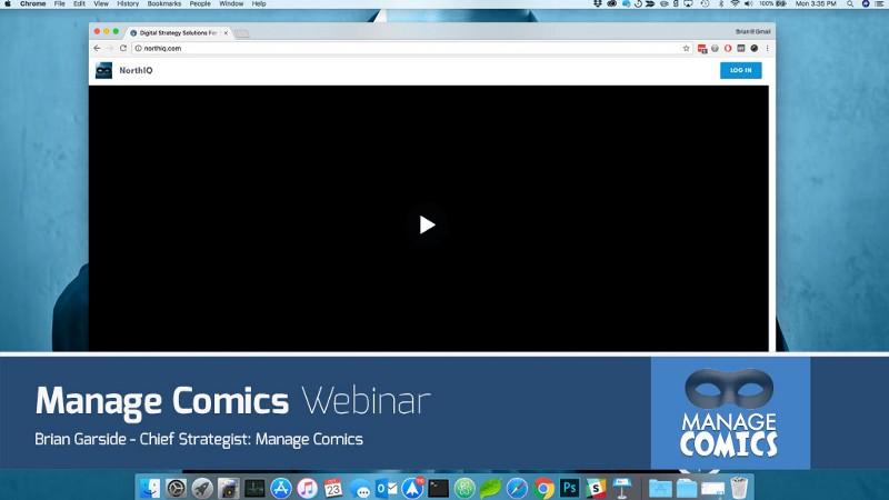 Manage Comics Webinar