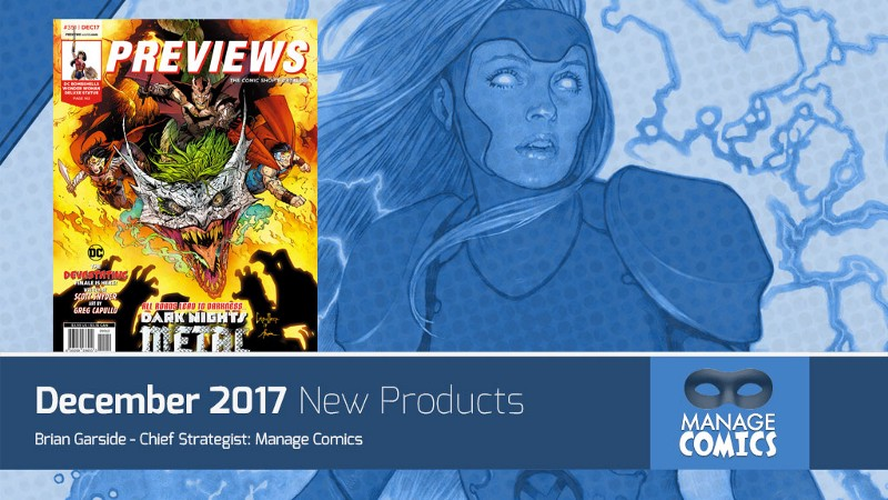 New Comics added to Manage Comics for December 2017