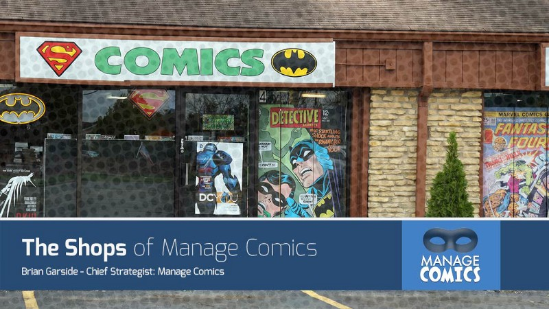 The Shops of Manage Comics