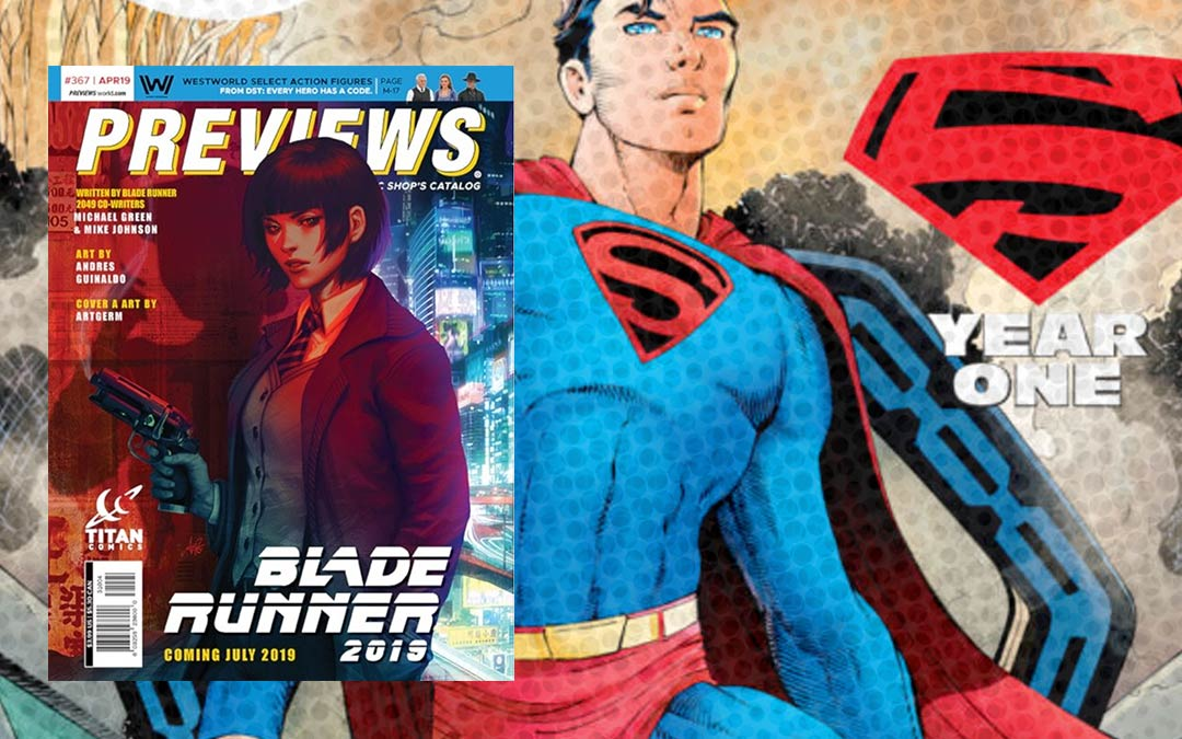 April 2019 New Comics Subscriptions
