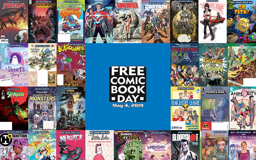 Making the Most Out of Free Comic Book Day 2019