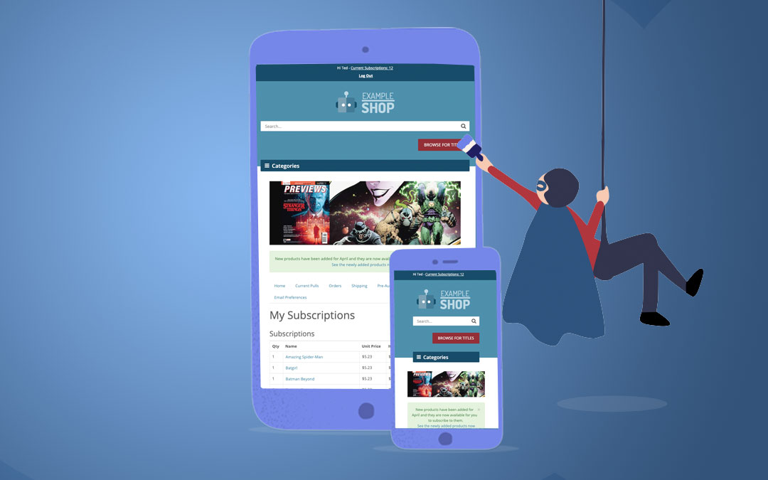 3 Ways to Make Your Comic Book Store More Mobile Friendly