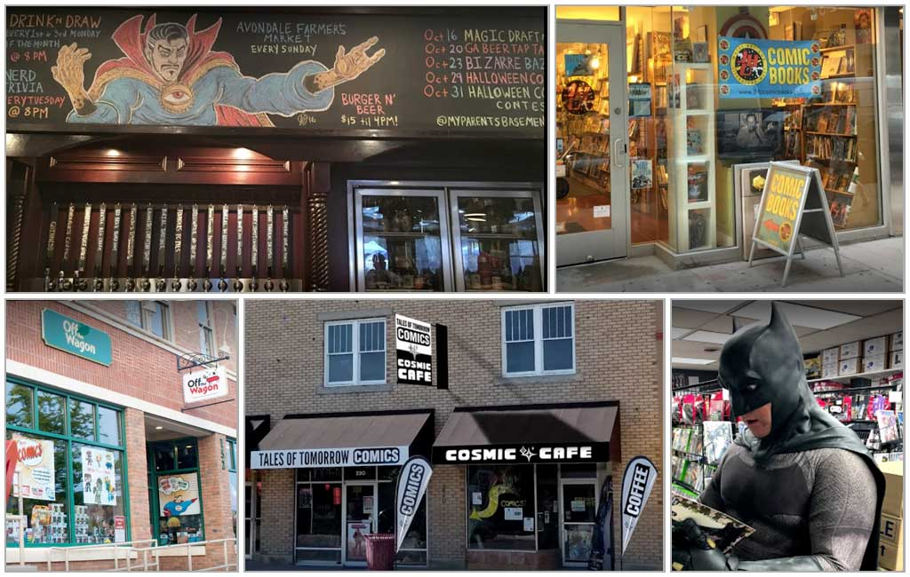 Five Awesome Comic Shops That do Things Differently