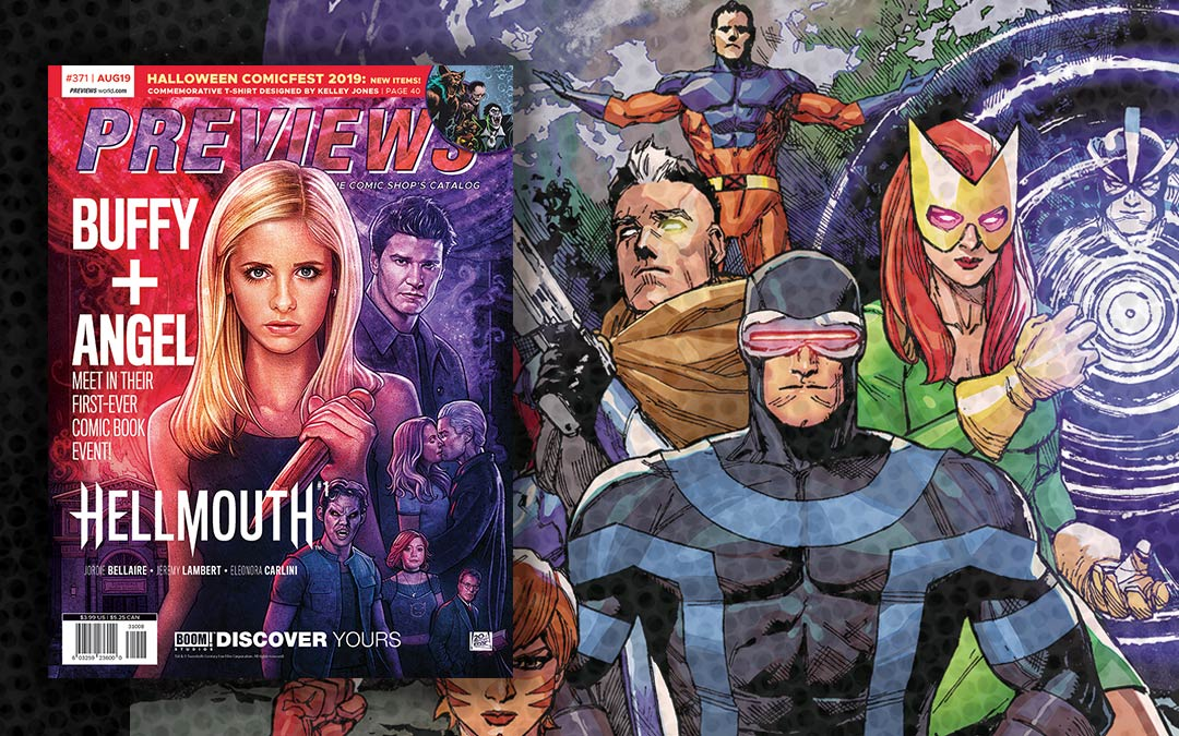New Comics Previews for August 2019