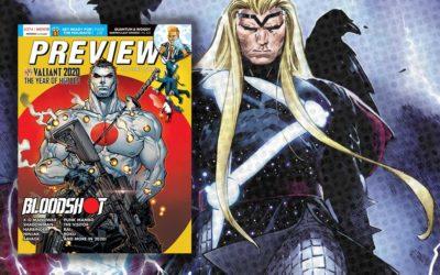 New Comics Previews – November 2019