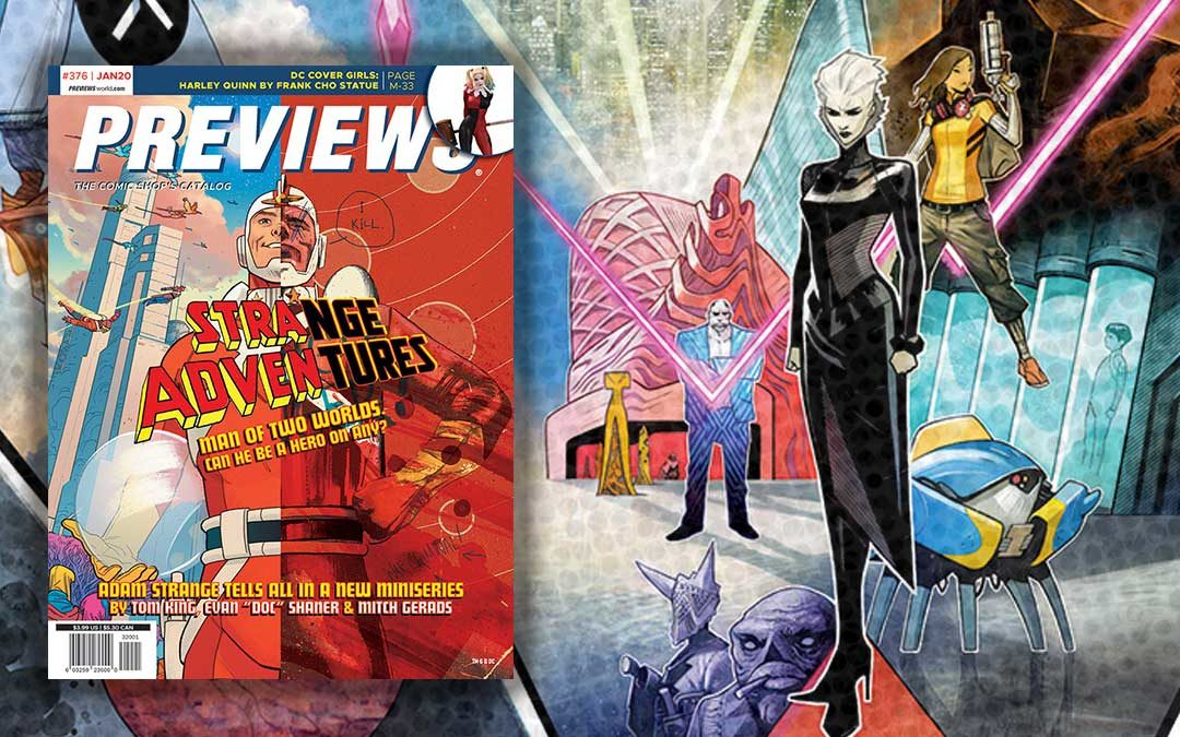 Newly added to Manage Comics for January 2020