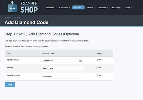 Add Diamond Codes