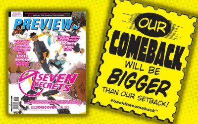 New Comics Previews for June 2020