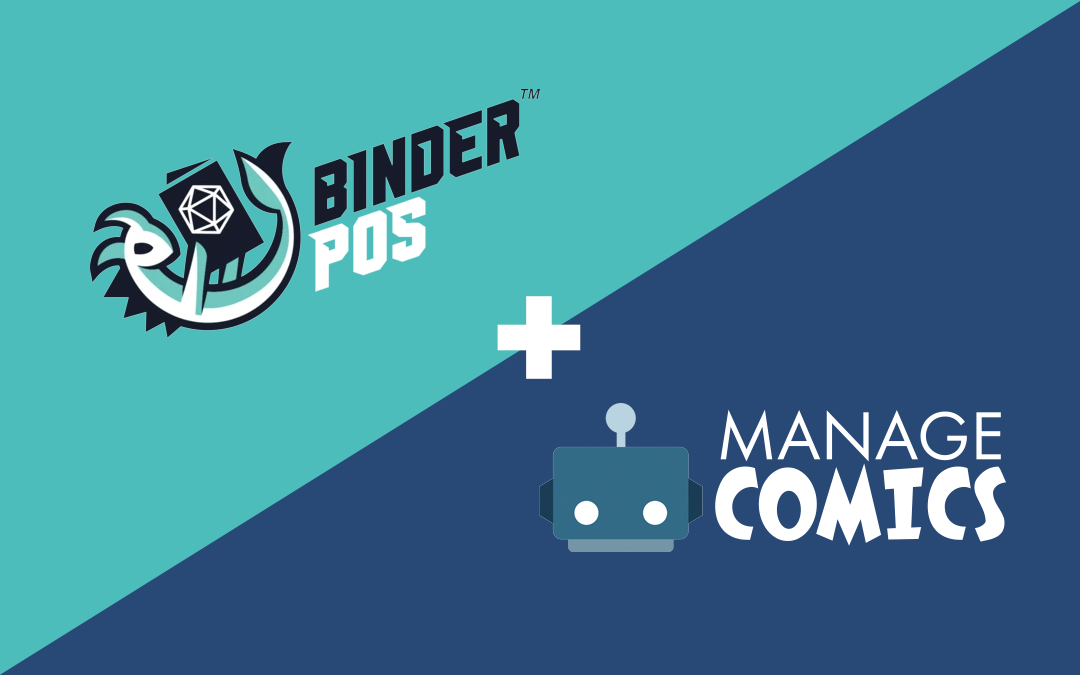 Manage Comics and BinderPOS