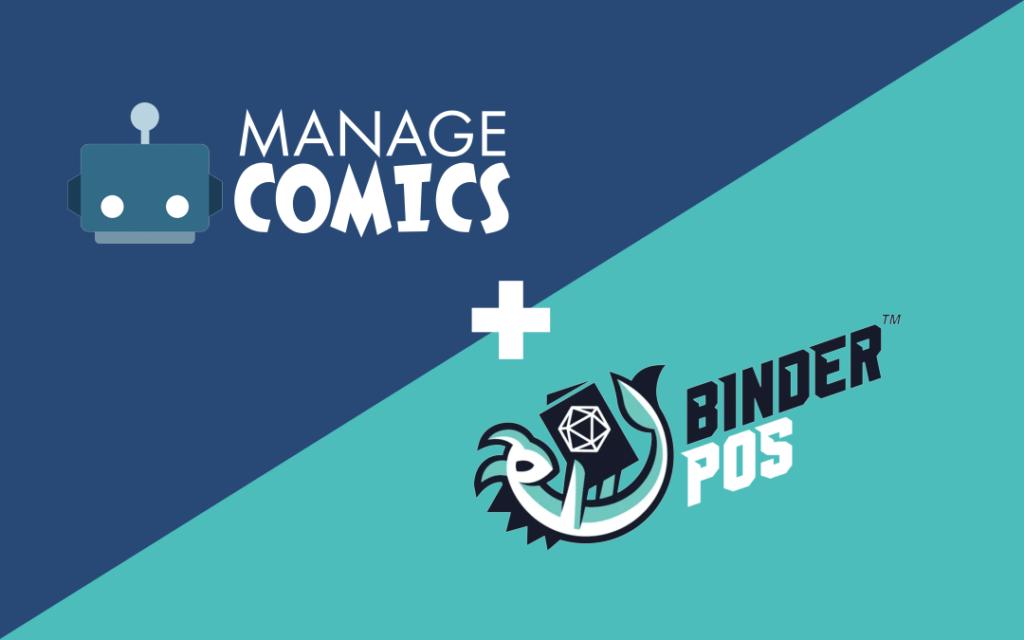 Manage Comics and BinderPOS