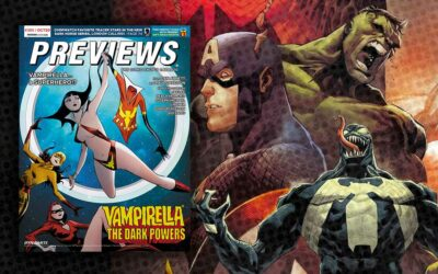 New Comic Previews for October 2020