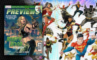 November 2020 New Comics Previews
