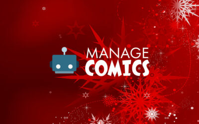 Happy Holidays from Manage Comics