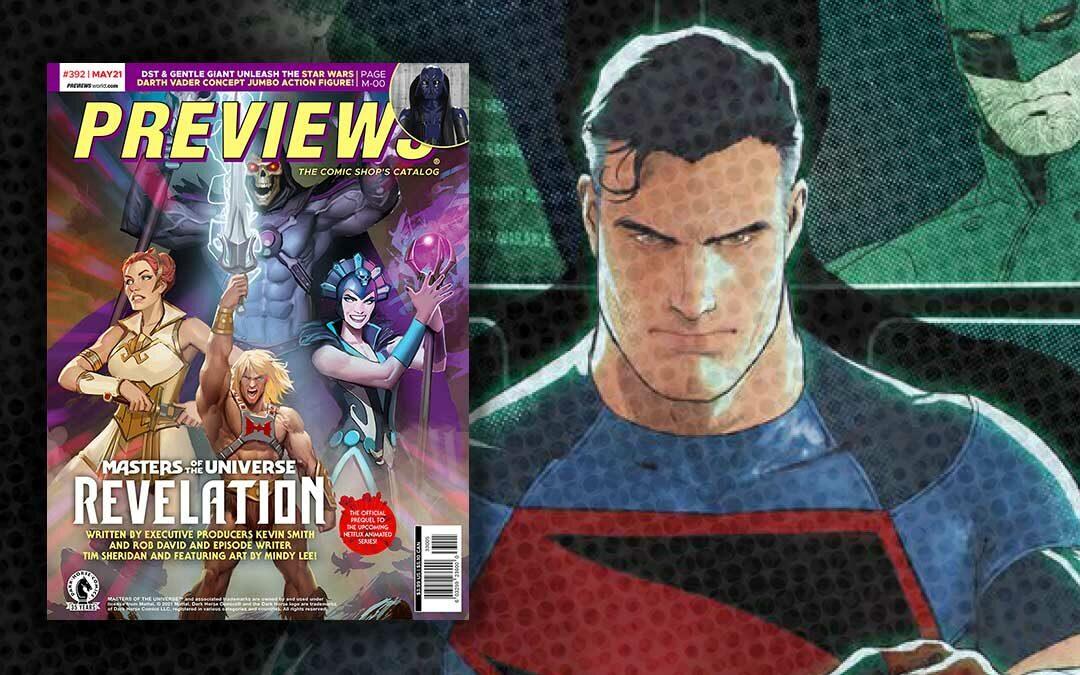 May 2021 New Comics Previews