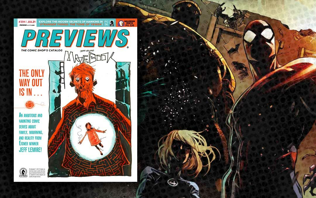 New Comic Previews for July 2021
