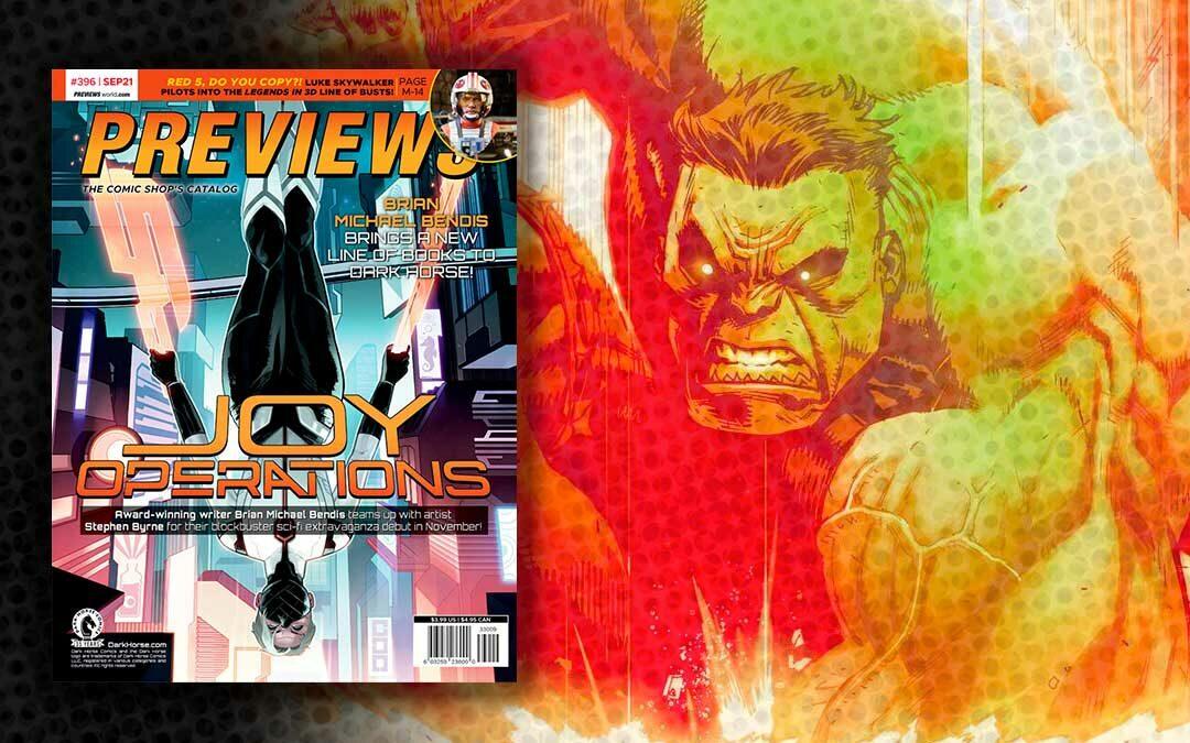Comic Previews for September 2021