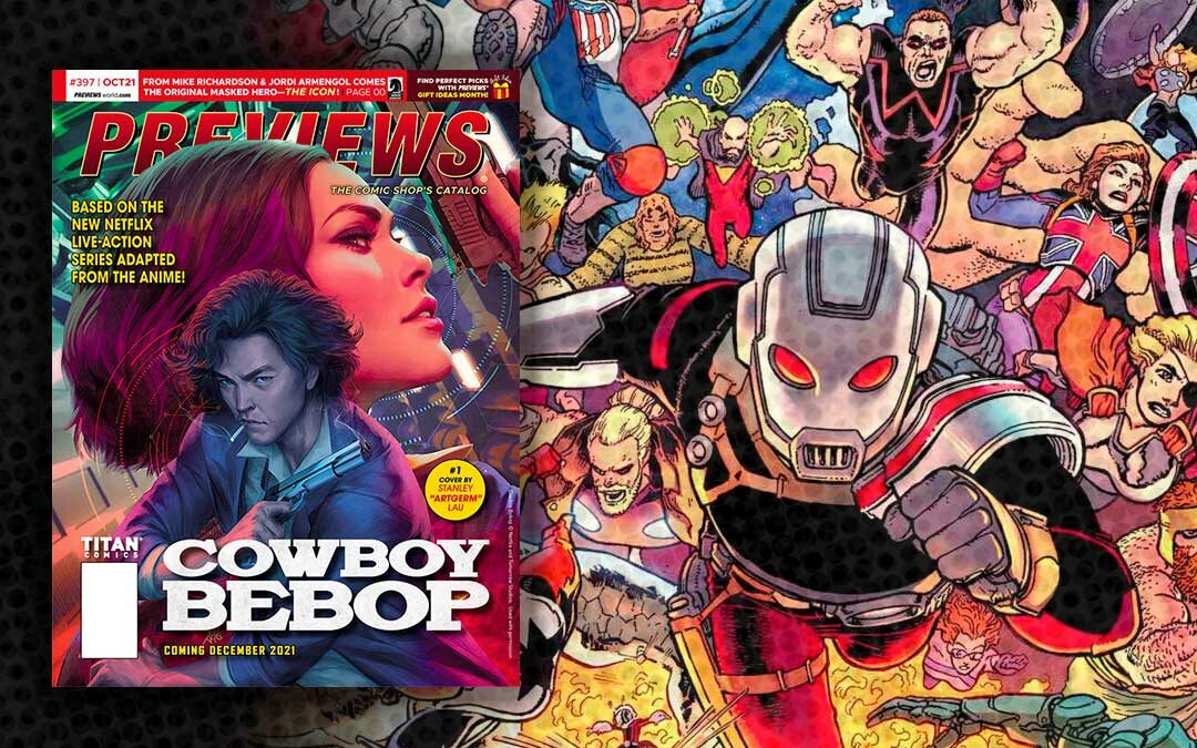 New Comic Previews for October 2021